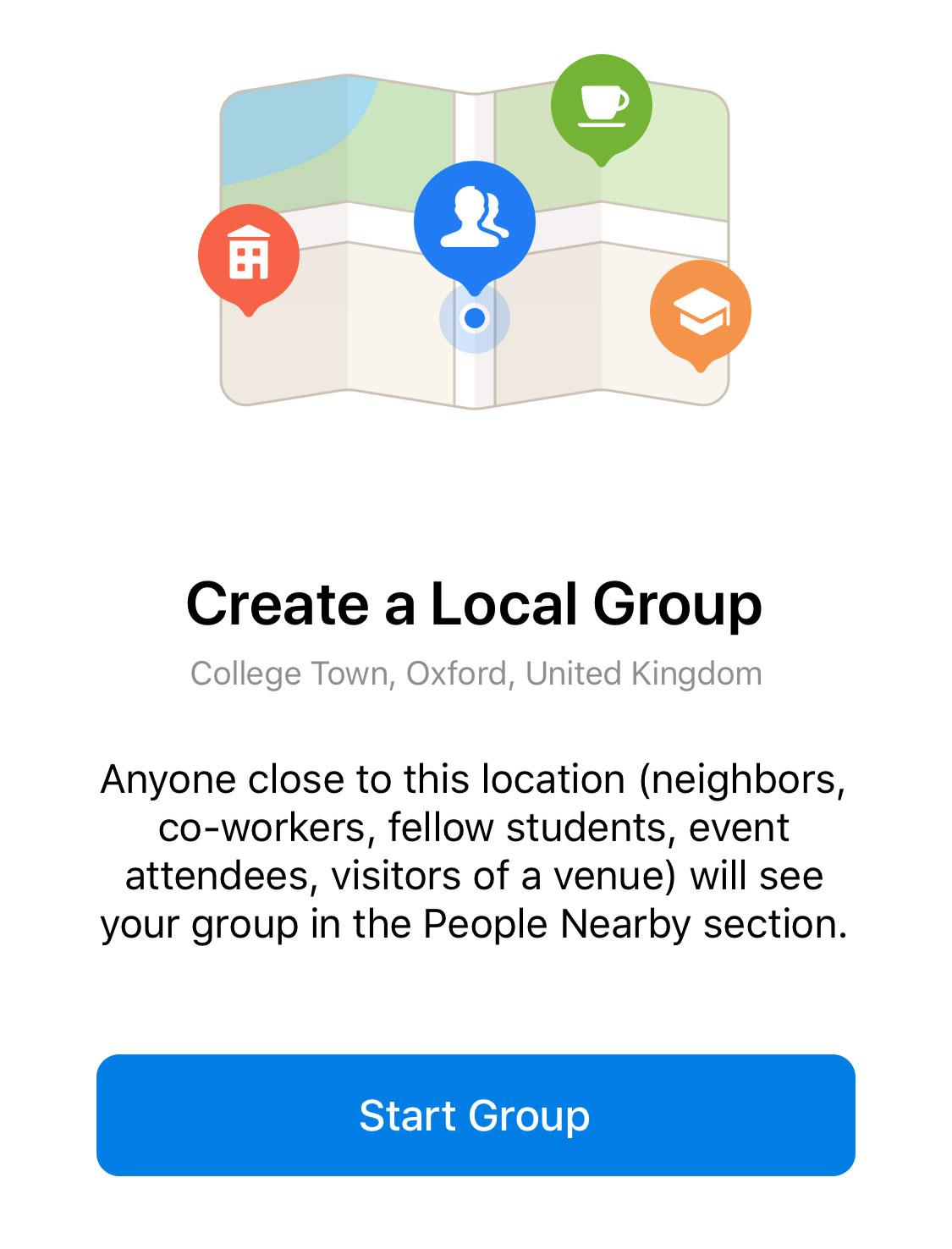 Location-Based Chats, Adding Contacts Without Phone Numbers and More