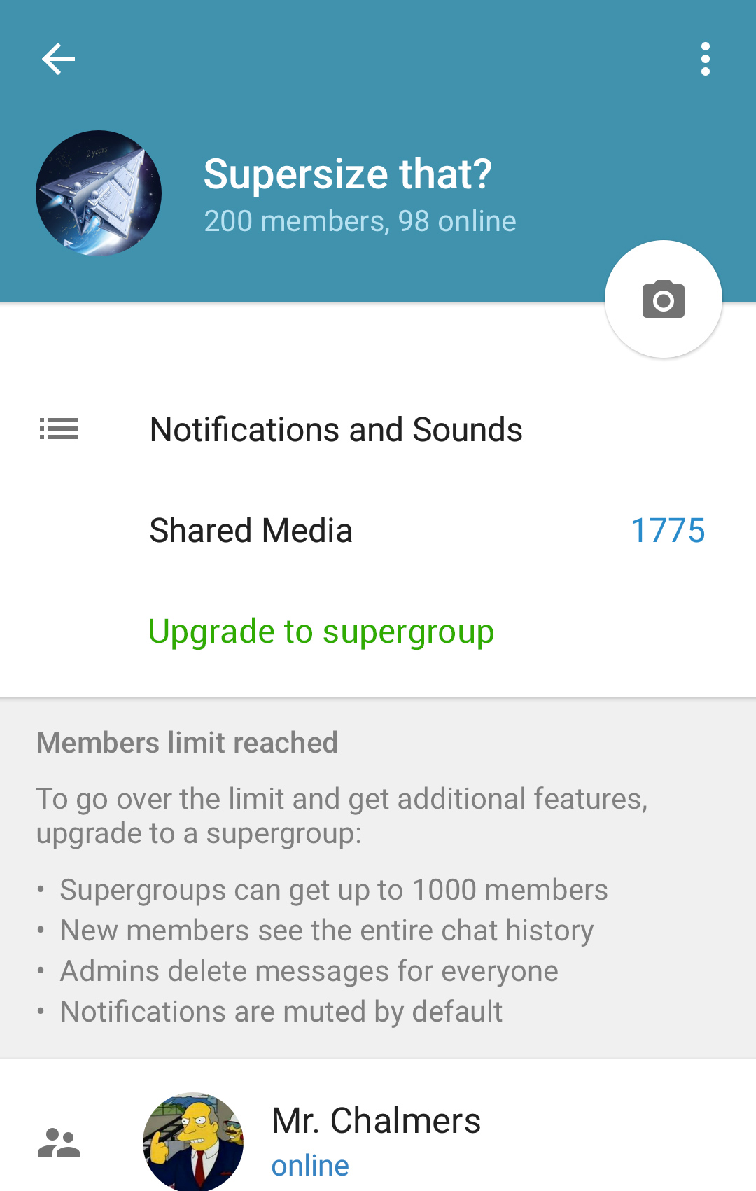Admins, Supergroups and More