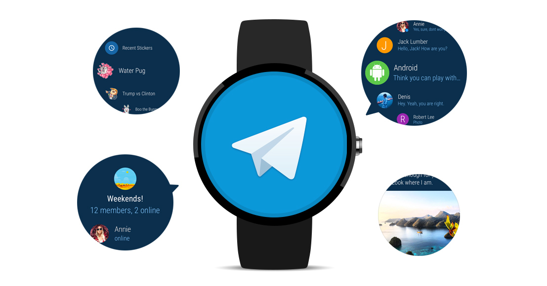Telegram for Android Wear 2 0
