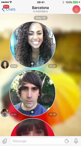 Video Messages and Telescope