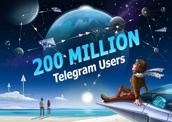 200,000,000 Monthly Active Users