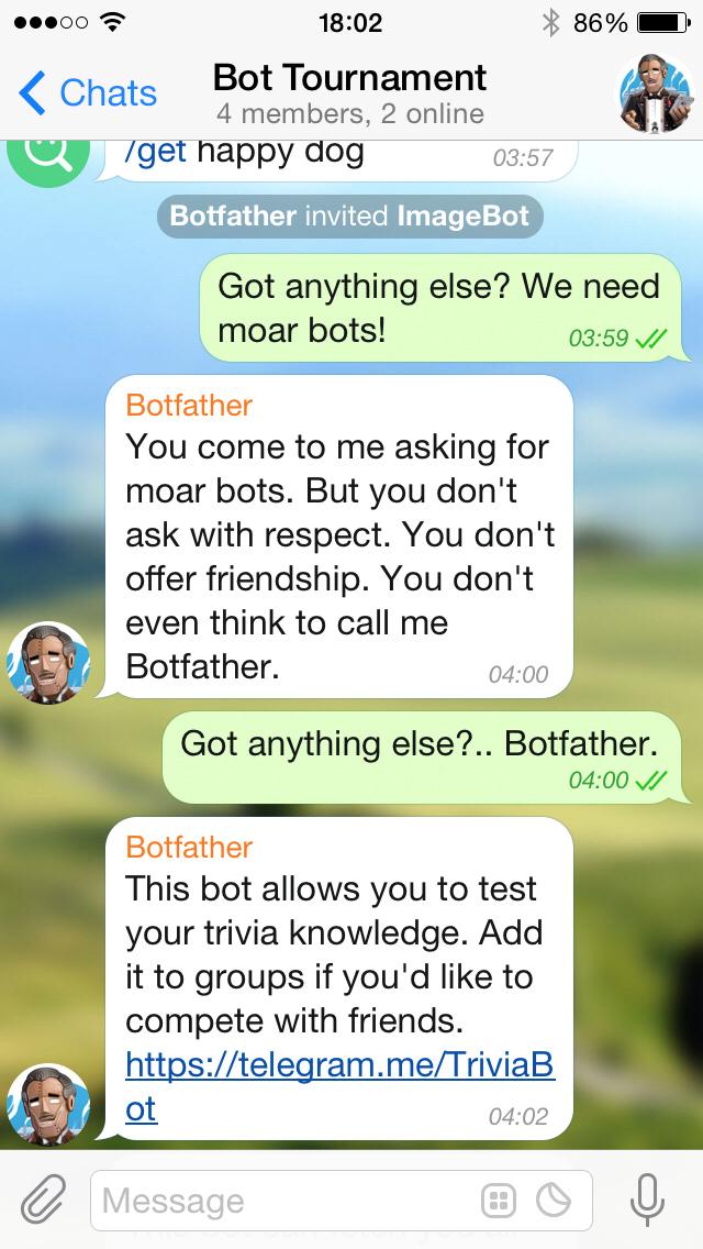 Telegram Bot Platform