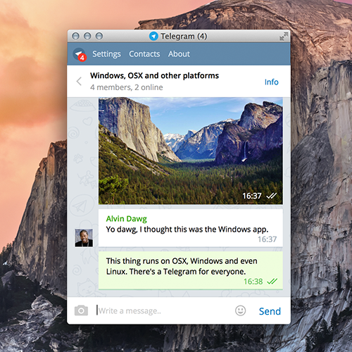 Telegram Desktop Adds Compact Mode