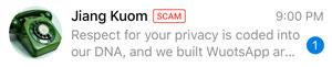 telegram 5.7 per android e ios non chattare con il truffatore