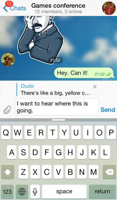 Reinventing Group Chats: Replies, Mentions, Hashtags and More